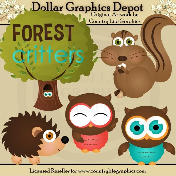 Dark Wood clipart forest school Images on Woodland Preschool
