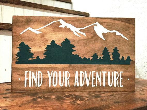 Drawn sign paint Decor Adventure Pinterest 25+ Nursery