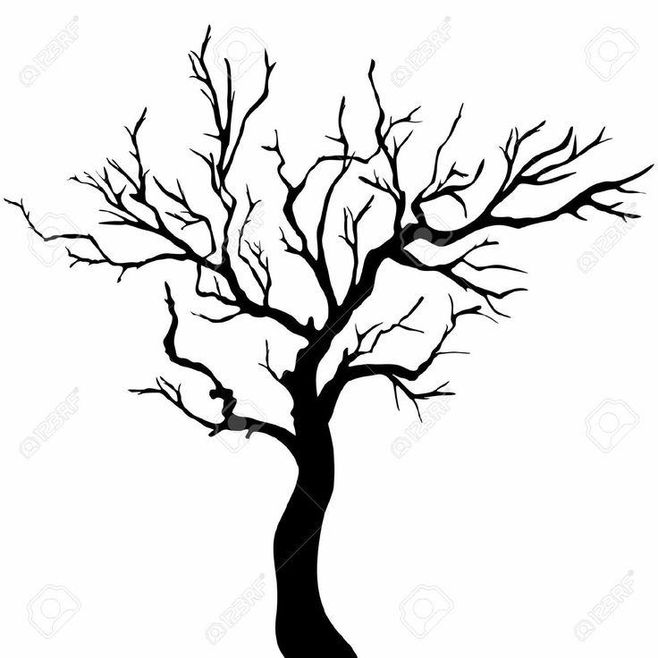 Drawn tree winter tree Free about Tree Tree ideas