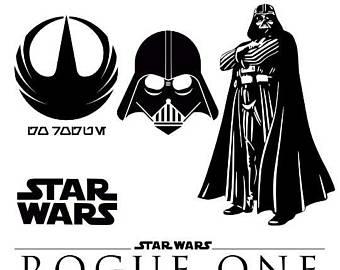Darth Vader clipart Vader Darth clipart Star Cut