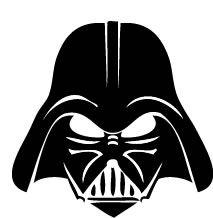 Darth Vader clipart Google art darth Pinterest Stencil