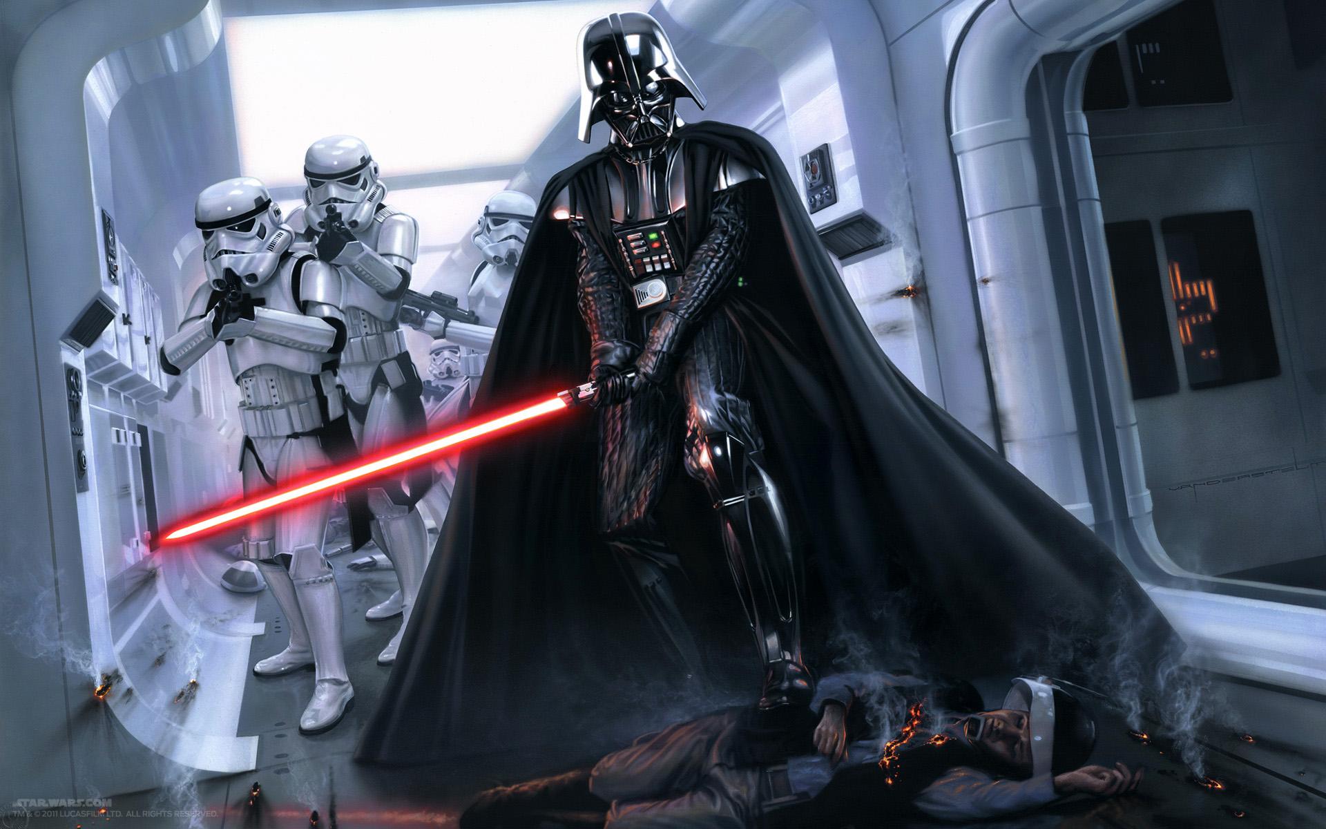 Drawn darth vader darrh First Vader One Darth Star