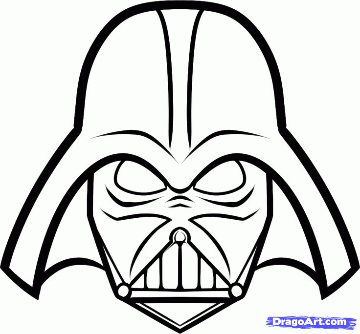 Drawn star template different Wars Darth 25+ draw How