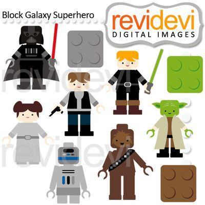 Luke Skywalker clipart lego (10 from on TeachersNotebook clip