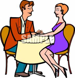 Romance clipart courtship A on on Free A