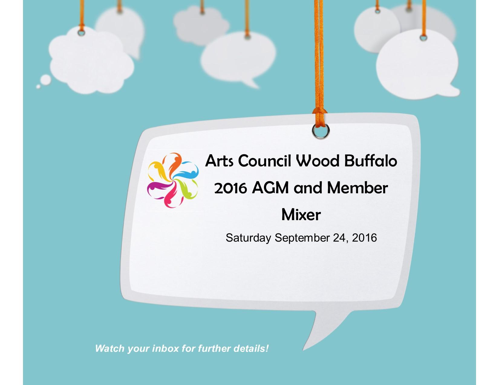 Date clipart agm Council & Mixer Member Arts
