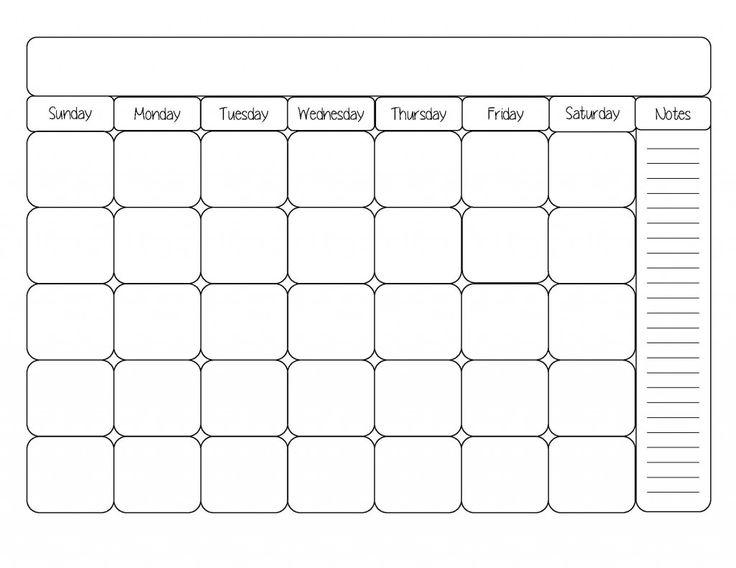 Date clipart blank calendar About best Template Calendar Blank