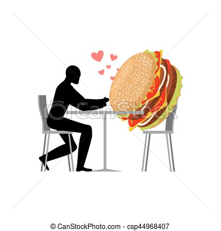 Date clipart cafe Hamburger hamburger food cafe lover