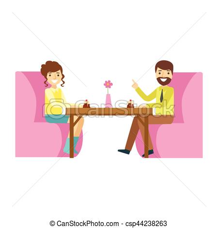 Date clipart cafe Woman Woman of Romantic Art