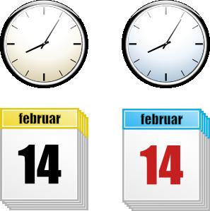 Date clipart calendar time Art online And art Time
