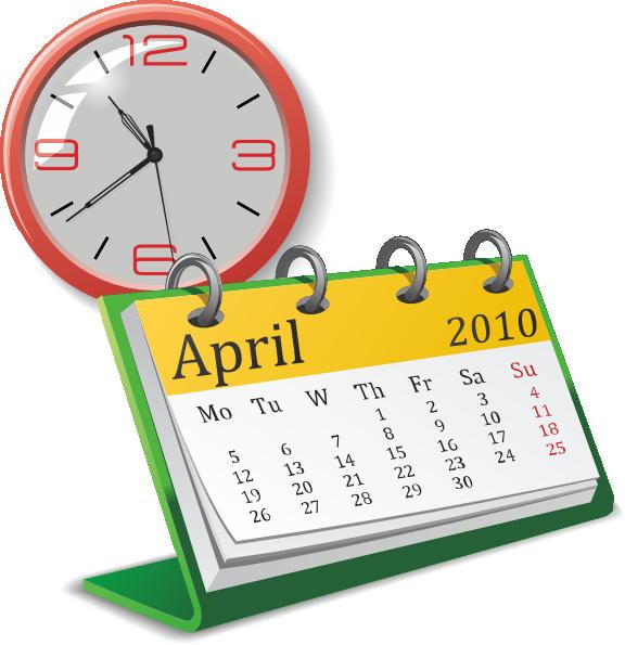 Date clipart calendar time At  Calendar online And