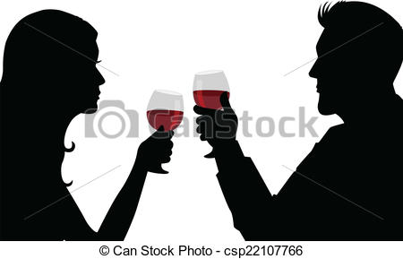Date clipart candlelight dinner #8