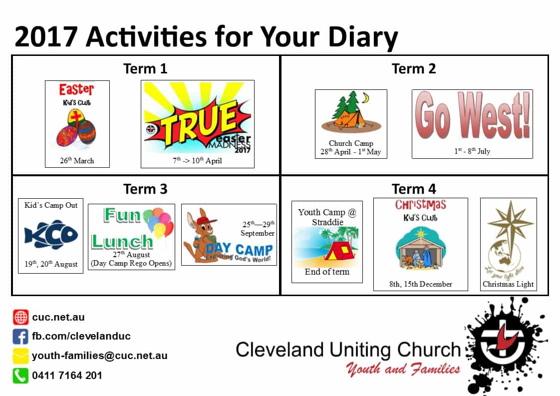 Date clipart claimer Australia Uniting Cleveland Church section