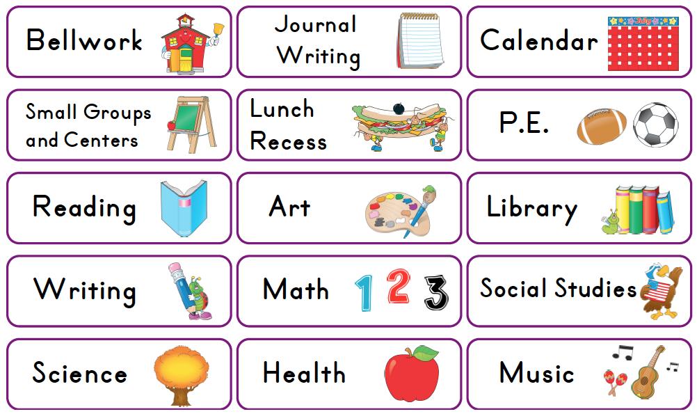 Calendar clipart scheduling Clipart Schedule Clipart Preschool Schedule