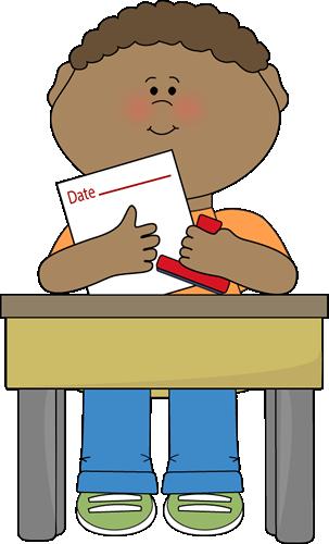 Desk clipart cute student Date Job Art Classroom Clip