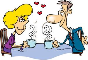 Date clipart courtship Coffee Coffee A Couple a