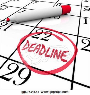 Date clipart deadline Clipart deadline%20clipart Clipart Images Free