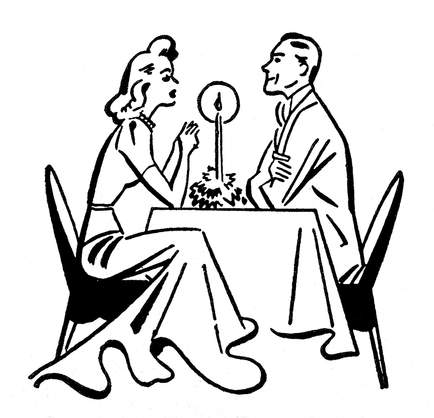 Date clipart dining Clipart Clipart Numerals Dining Roman
