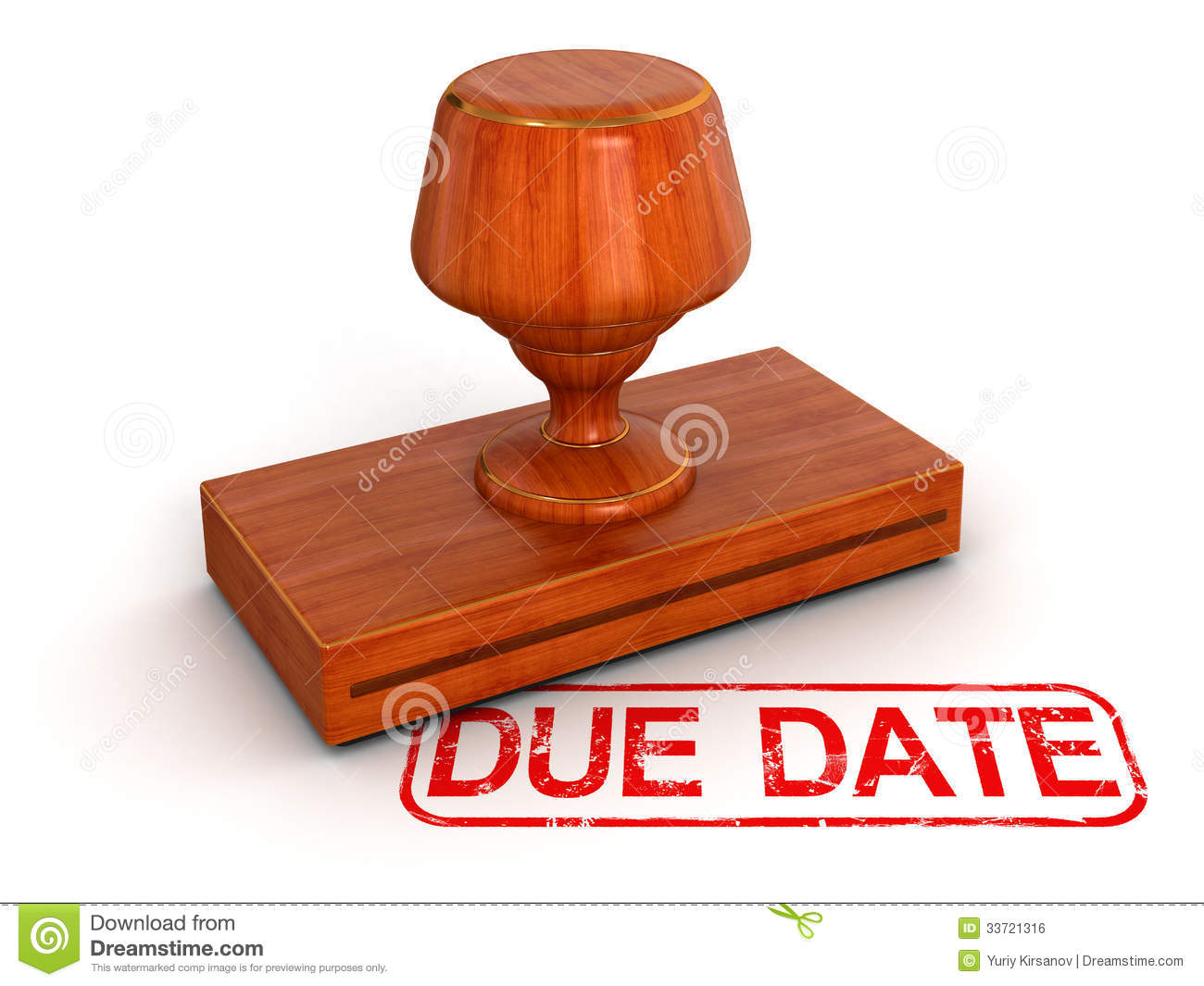Date clipart due date  Assignment Date Due Clipart