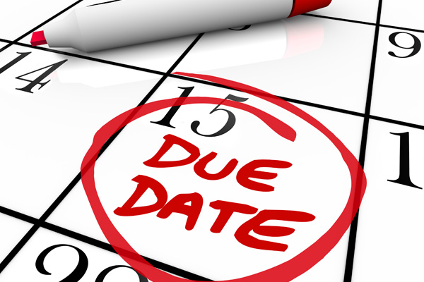 Date clipart due date  Due Random Dates Thoughts