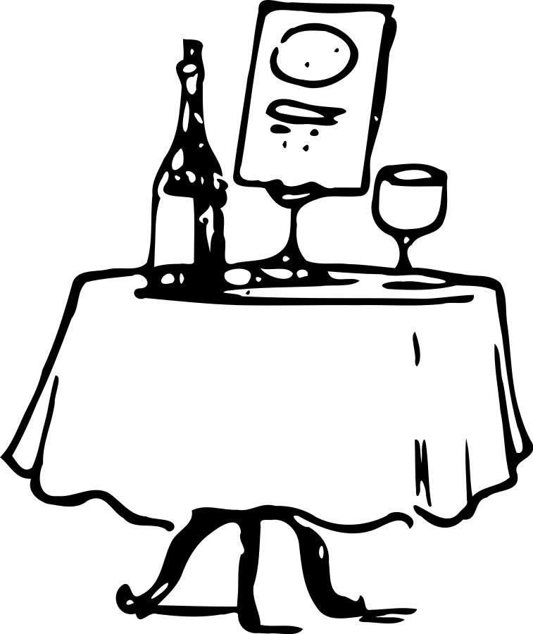 Date clipart fancy restaurant  Differences Am – Culture