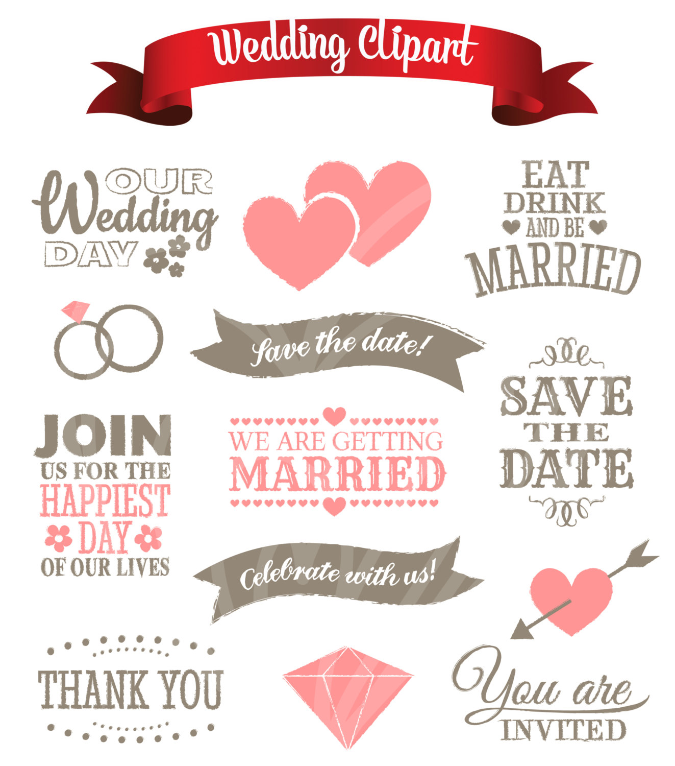 Date clipart join us Clip Digital This Art Save