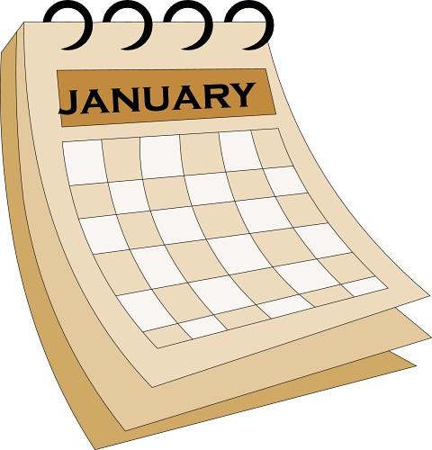 Date clipart kid calendar / School Important Homepage Frederiksen