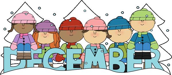 Calendar clipart winter Clipart calendar December BBCpersian7 date