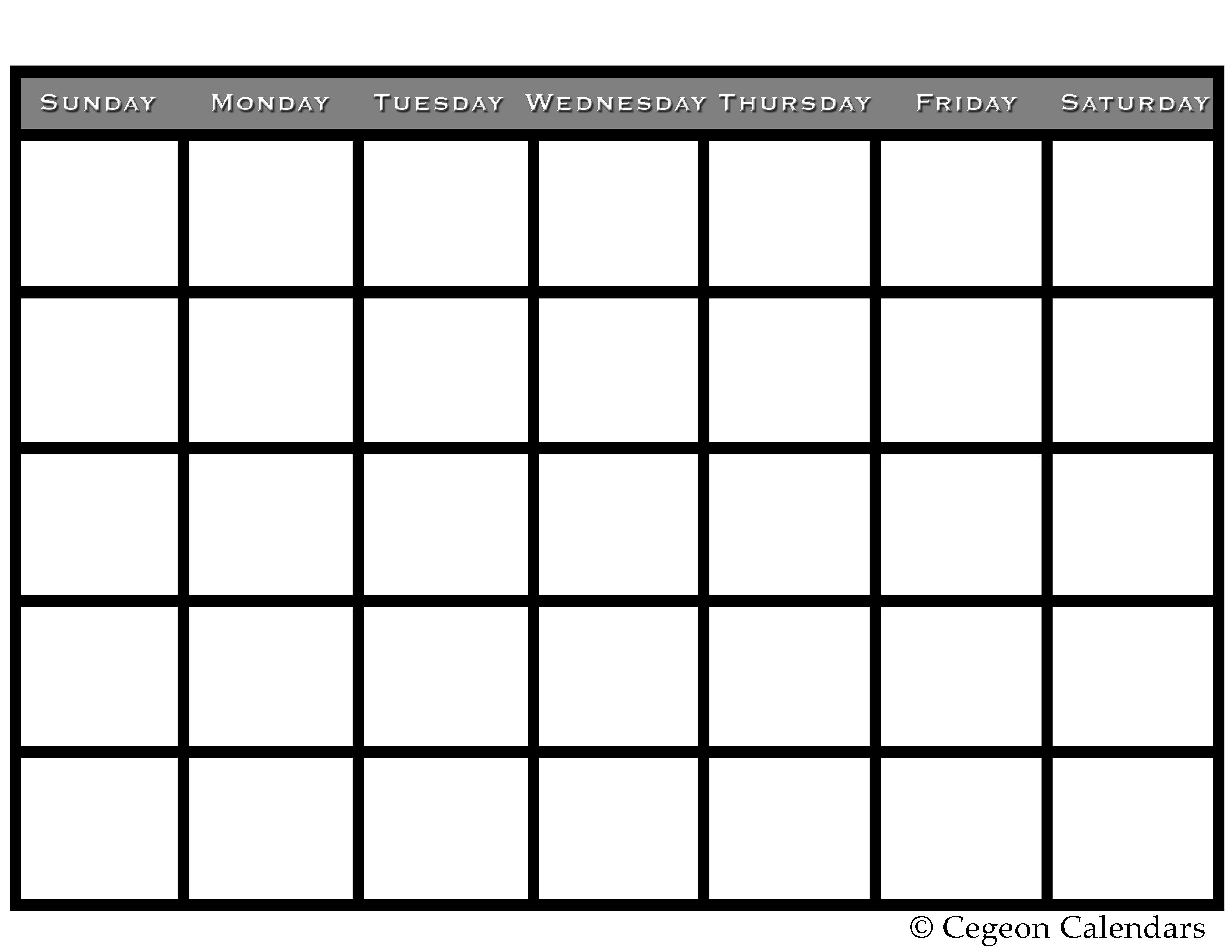 Saturday clipart calendar page #8