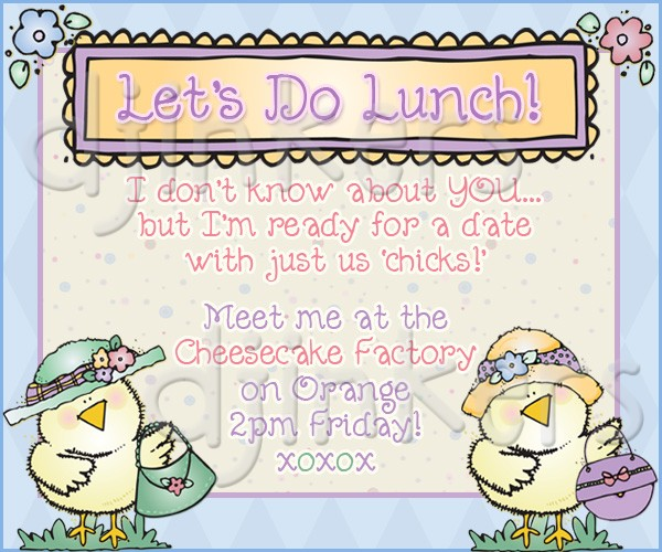 Date clipart lunch date #11
