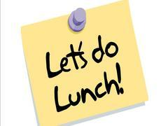 Date clipart luncheon Suburban lunch out TIME suburban
