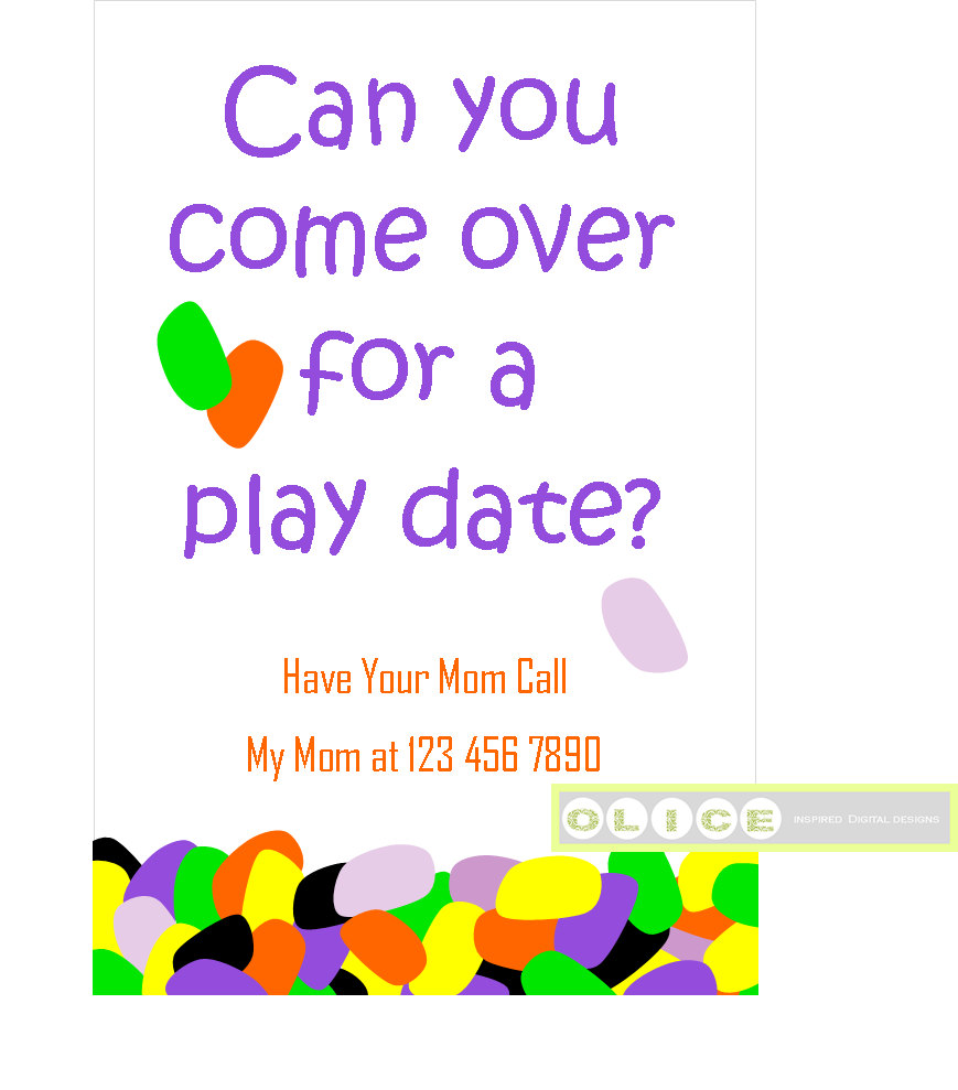 Date clipart mom and dad Cards invites kids invitation date