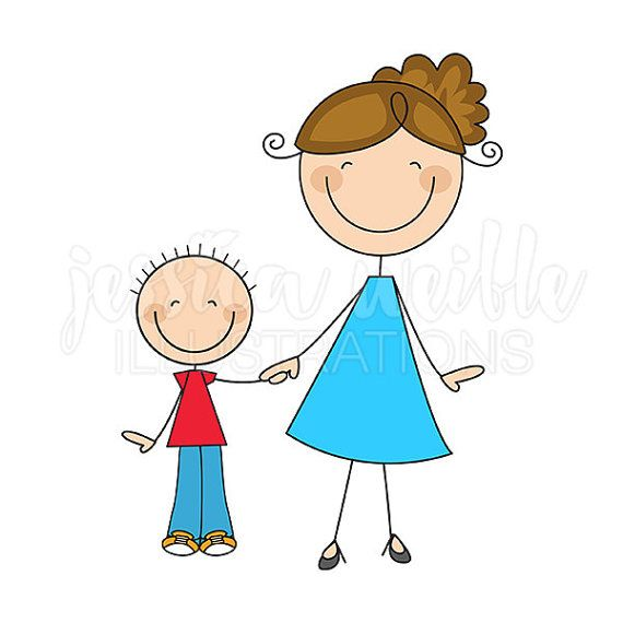 Date clipart mom and dad Stick Stick and OK Son