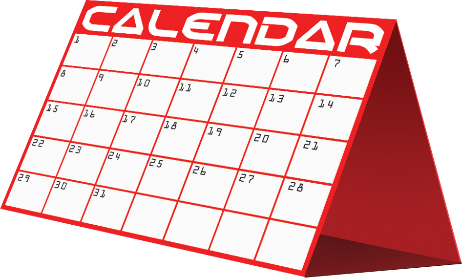 Date clipart next week Cliparts Weekly Calendar Free Clip