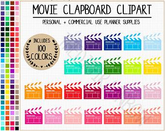 Date clipart next week Clipart CLAPBOARD SALE stickers NEXT