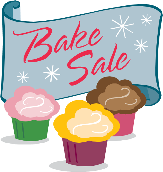 Vanilla Cupcake clipart sale sign Bake Organise Event clipart sale