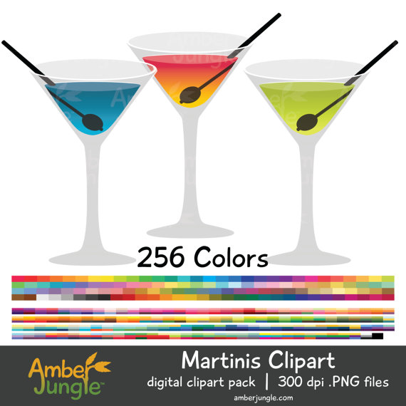 Date clipart party planning Rainbow Cocktail for Clip Art