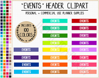 Date clipart party planning SALE party planner stickers stickers