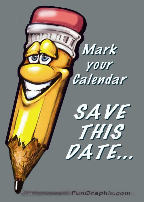 Date clipart schedule change #14