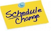 Date clipart schedule change #4