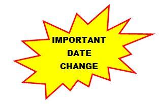 Date clipart schedule change #6