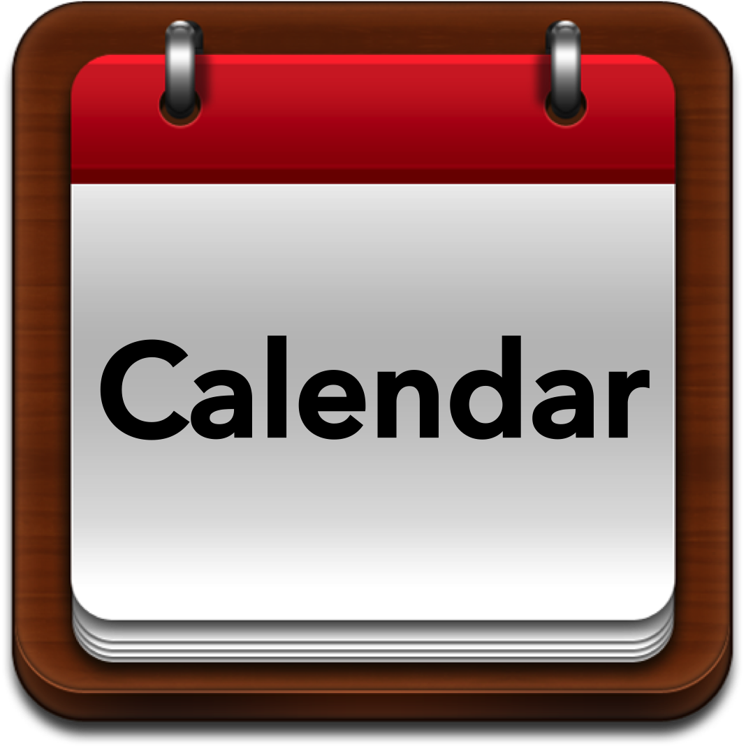 Calendar clipart company meeting School Local Calendar School Where