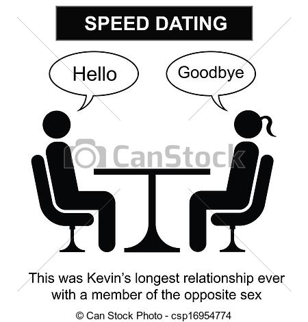 Date clipart speed dating Clip of  Speed Reading