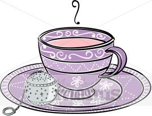 Date clipart tea #6