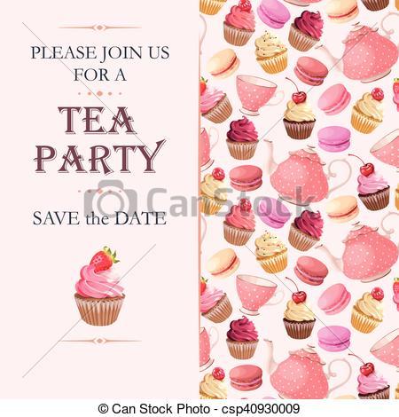 Date clipart tea #4