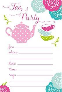 Date clipart tea #12