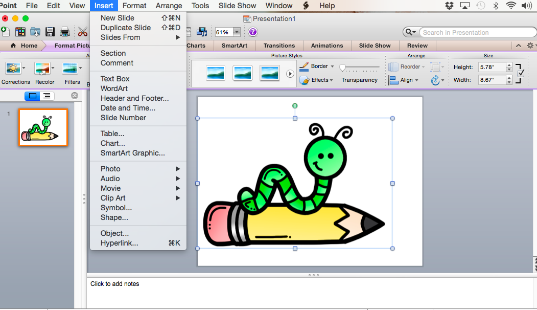 Date clipart then Type Teaching