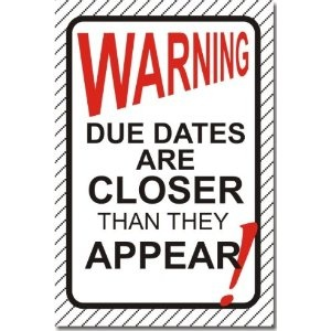 Date clipart then Posters Classroom Are Than Warning