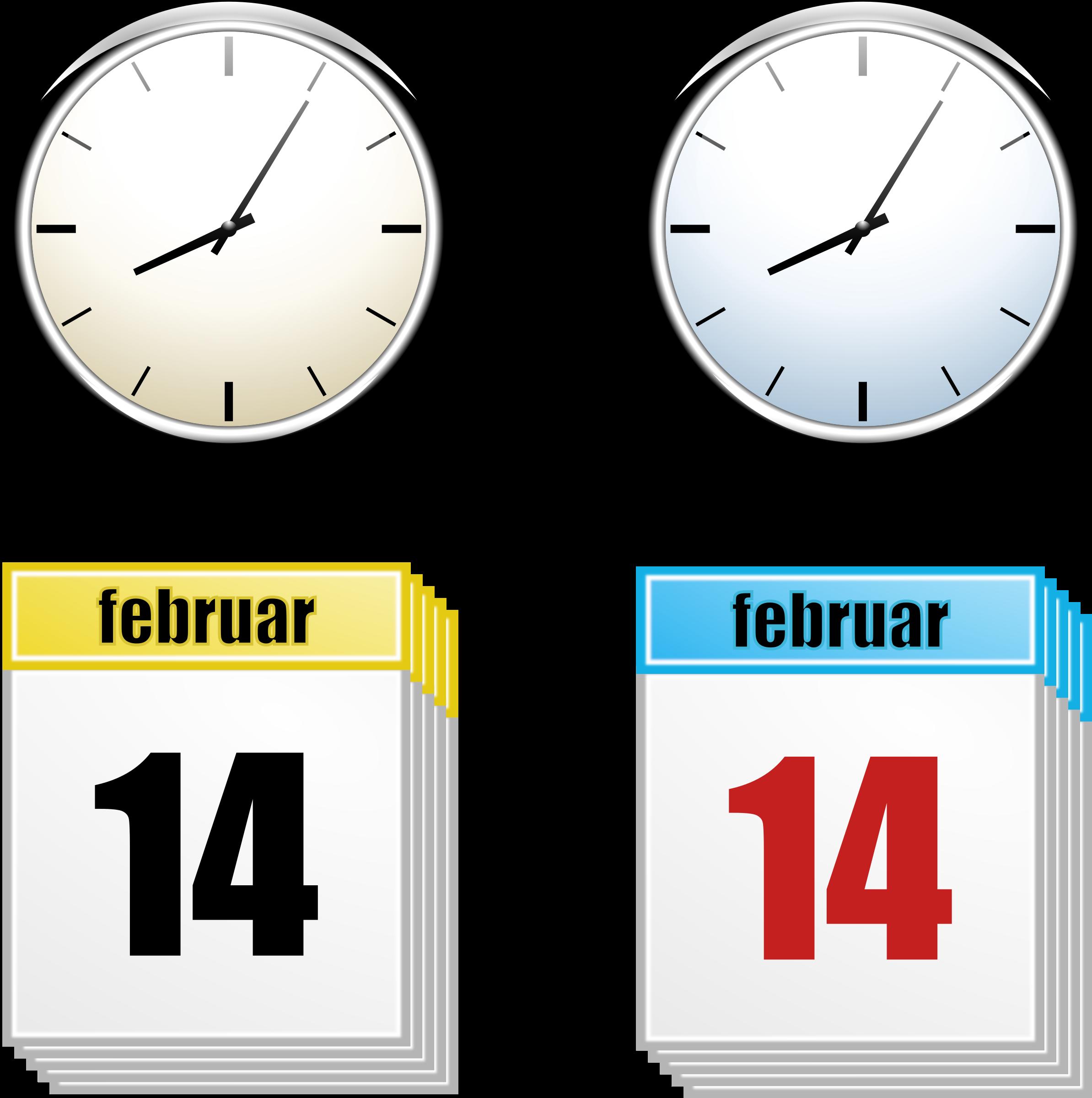Date clipart timeline Clock BIG Calendar (PNG) Clipart