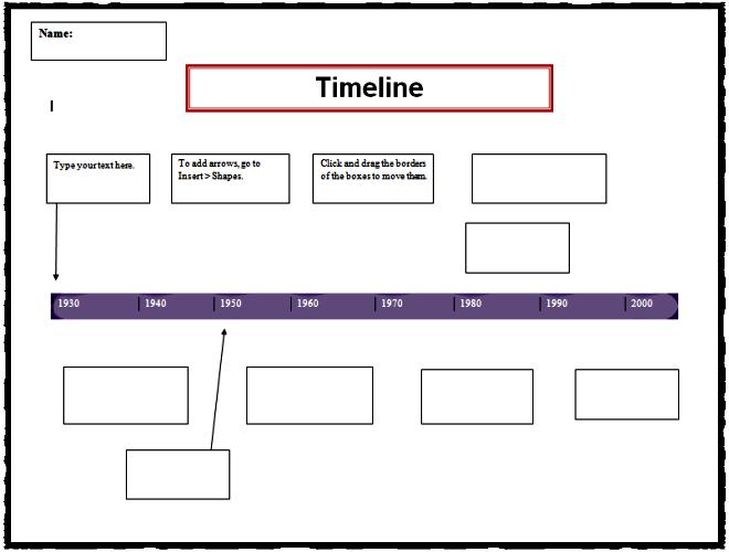 Date clipart timeline K timeline Computer Timeline Template